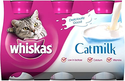Whiskas Cat Milk (3x200ml) - Pack of 6