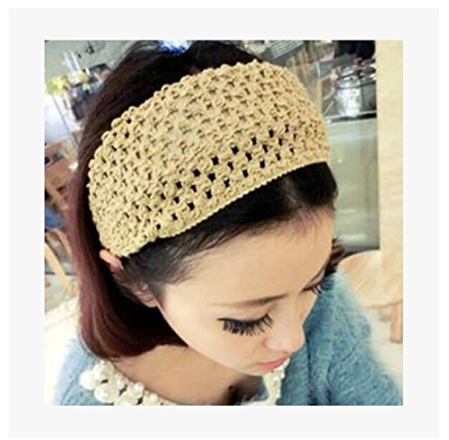 Womens Sport Headbands Cable Knit Head Band Wrap