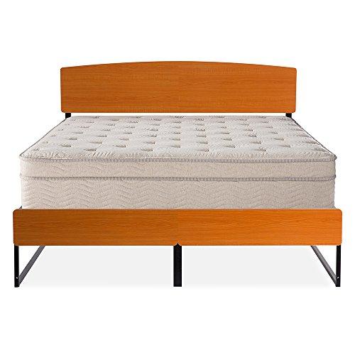 Olee Sleep Deluxe Platform Bed With Dura Steel Slat Support/