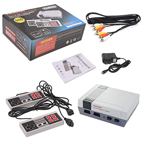 EVVE Retro Mini Video Game Console Built in 600 Classic Games Console AV Out Family Computer Adult & Children Gifts by EVVE (Image #4)