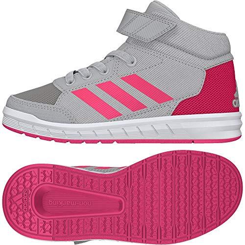 Rosrea 000 Grigio bambini griglia Gum3 Sneakers unisex Altasport Mid K per Adidas wWCcHqaP4