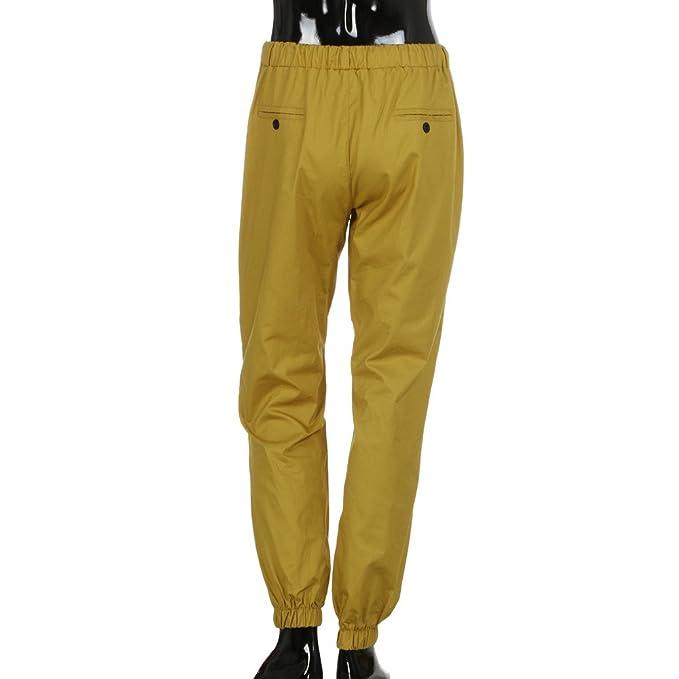Pantalón Deportivo Pantalones Hombre Suelto Casuales Jogger Hip Hop Estilo Urbano Chándal de Hombres con Cinturón Elástico Regular-Fit: Amazon.es: Ropa y ...