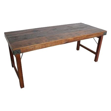 Tavolo Da Cucina Legno.Stuff Loft Tavolo Da Pranzo Pieghevole In Legno Anticato
