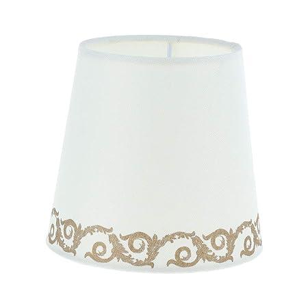 KESOTO E27 - Pantalla de Tela para lámpara de Mesa, lámpara de pie ...