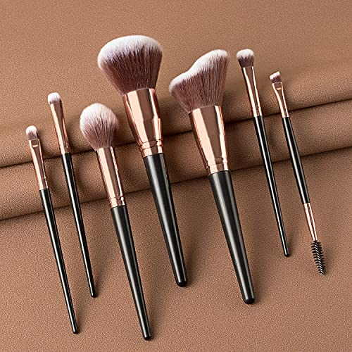 Eye Makeup Brushes Set,7 PCS Eyeshadow Brushes SetProfessional Makeup Brushes For Eyeshadow Blending Concealer Eyebrows (With Package ) (Style A)