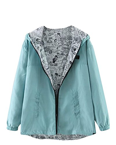 Jacket PU Green Sleeves Padded Hooded Parka Quilted Womens Moollyfox Warm Coat Long nxPq4Yz