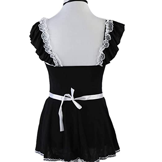 Amazon.com: Lingerie Sexy Underwear for Women,Ladies Lovely Female Lace Bow Erotic Sleepwear (M, Black): Electronics