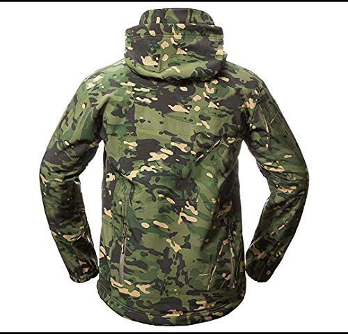 Invernale Uniform In Desert Camo Pile V5 Skin Soft Da Giacca Uomo Shell Army Tactical Impermeabile Shark Fuweiencore large Green colore Dimensione Xx twOcSqfWAA