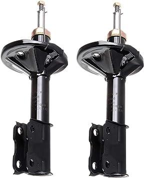 Pair Set of 2 Front Suspension Struts /& Bellows KYB for Mitsubishi Lancer DE ES