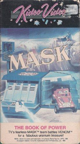 MASK. The Book of Power. TV's fearless MASK team battles VENOM for a fabulous uranium - Mall Kenner