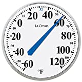 Best La Crosse Technology Outdoor Thermometers - La Crosse Technology 104-114 Round Thermometer, 14-Inch Review