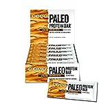 Paleo Protein Bar® (Organic SunButter) 12 Bars (150 Cal, 20g Egg White Protein 5 Net Carbs) (Gluten Free)
