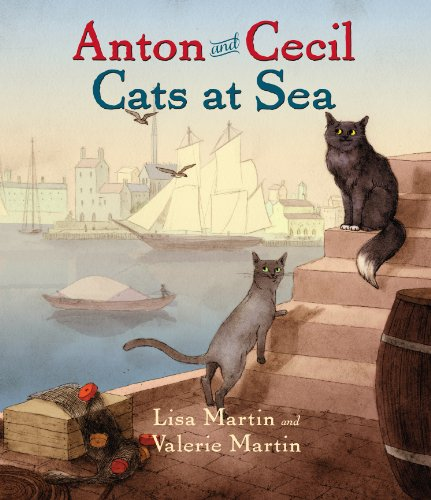 Anton and Cecil: Cats at Sea by HighBridge Audio