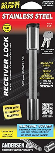 (Rapid Hitch 3429 Keyed Locking Oversized Receiver Pin )