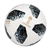 adidas Fifa World Cup Official Match Football - White/Black/Silver - Size 5