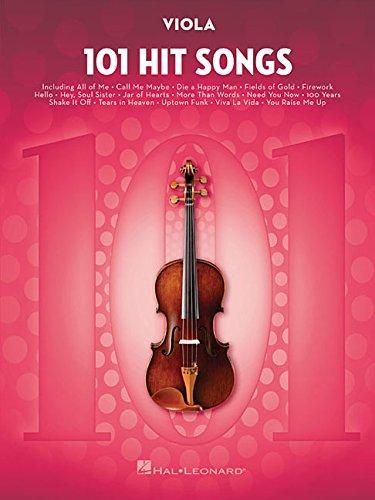 101 Hit Songs: for Viola (Viola Easy Music)