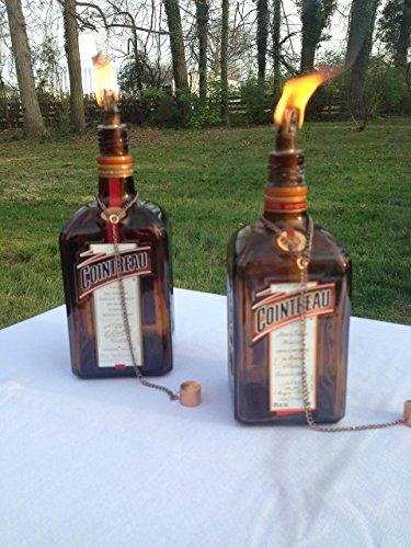 tiki-torch-cointreau-orange-liqueur-bottle-oil-lamp-two-outdoor-lighting-garden-decor