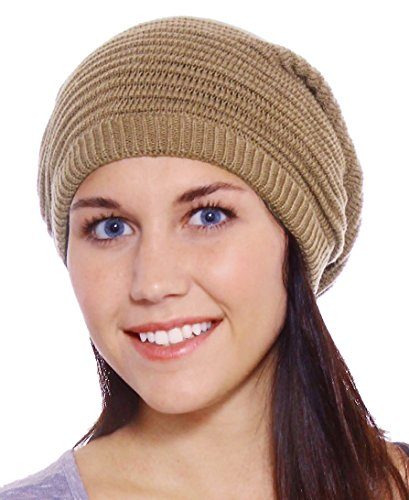 Simplicity Knitted Slouchy Winter Beanie