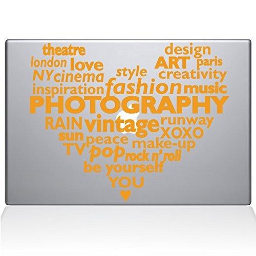 【残りわずか】 The Decal Yellow Guru 1040-MAC-13X-SY Contemporary Culture Heart Vinyl 13 Sticker Heart 13 Macbook Pro (2016 & newer) Yellow [並行輸入品] B0788G39X5, モバックス:482f00bf --- a0267596.xsph.ru