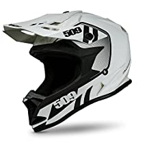 509 Altitude Snow Snowmobile Helmet Storm Chaser - White & Black - 509-HEL-ASC-_