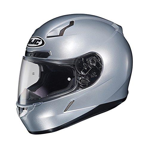 HJC 824-573 CL-17 Full-Face Motorcycle Helmet (Silver, ()