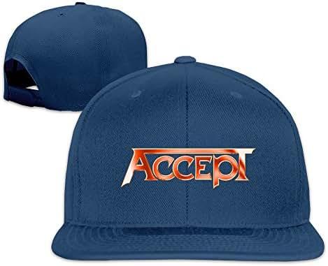 Accept Blind Rage Flat Sports Snapback Hats Sunscreen Caps