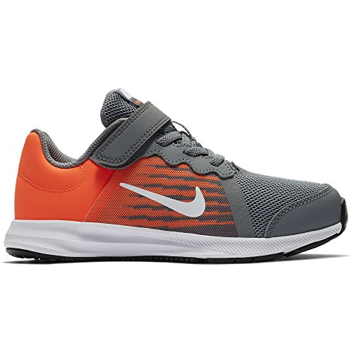 er 8 (PS) Preschool Shoe Cool Grey/White/Hyper Crimson/Dark Grey Size 2 M US ()