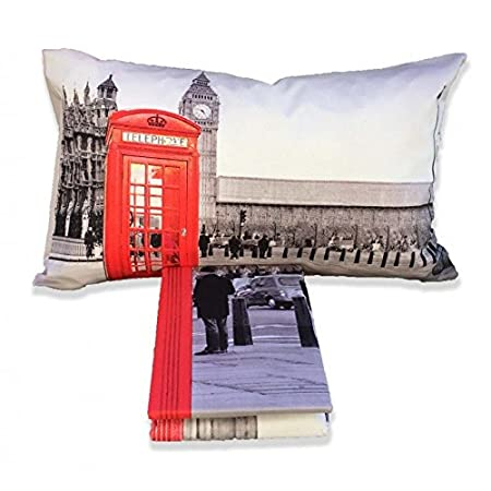 tex family Copripiumino Londra Inglese Cabina Big Ben - Matrimoniale ...