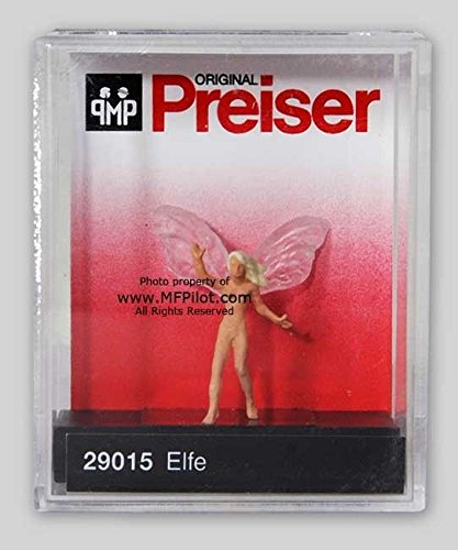 Unclothed ELFE FAIRY - Preiser Painted HO Scale Figure #2...