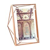 Umbra Prisma 5-Inch by 7-Inch Picture Frame, Copper