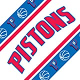 Four NBA Detroit Pistons Self Stick Wall Border