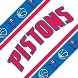 Three NBA Detroit Pistons Self Stick Wall Border