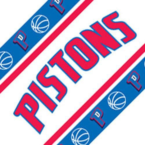 NBA Detroit Pistons Self Stick Wall Border by NBA