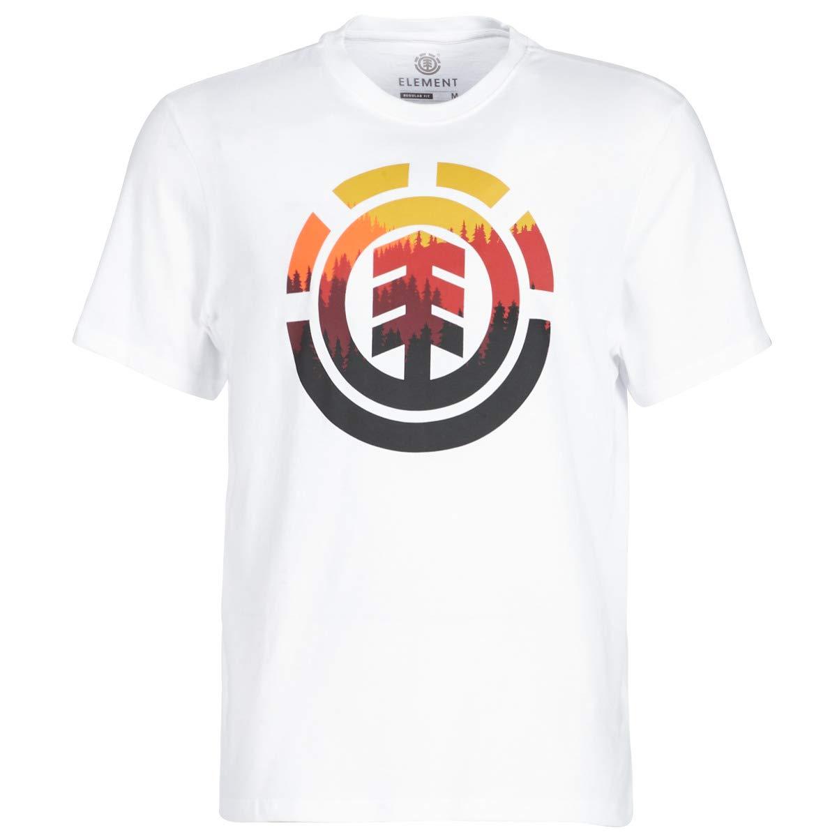 Element Glimpse Icon SS Camisetas y Camisas Polo Hombre Blanco ...