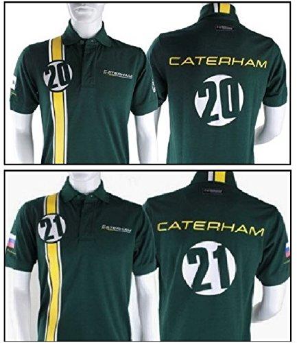 Polo para hombre X2 Fórmula uno Caterham F1 equipo Kovalainen ...