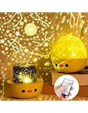 Night Light Projector, Three-button Control Rotation Multicolor Night Light for Star Sky for Birthday for Lovers for Universe for Christmas