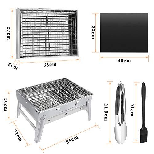 Gifort Barbecue Portable, Grill Barbecue à Charbon de Table