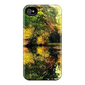 Excellent Design Autumn Free Autumn Colors 62 Phone Case For Iphone 4/4s Premium Tpu Case