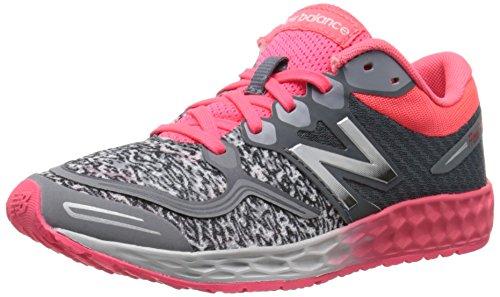 New Balance K1980 Fresh Foam Zante Running Shoe , Grey/Pink,