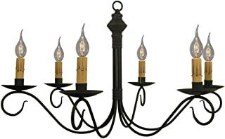 product image for Adams Chandelier - Handcrafted in USA - Black