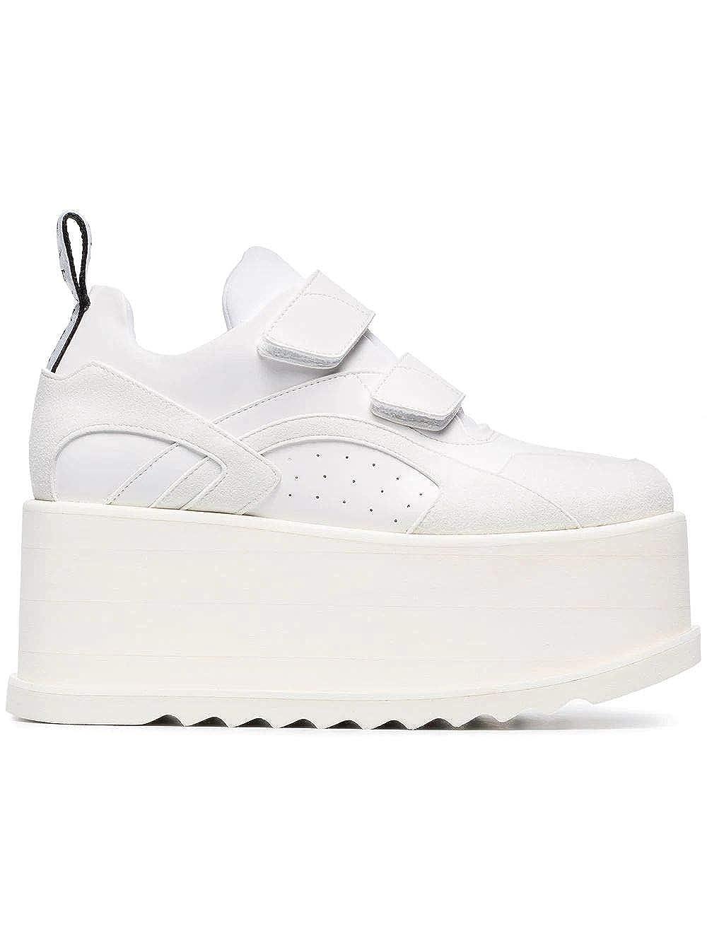 - Stella McCartney Women's 558855W1G949087 White Polyurethane Sneakers