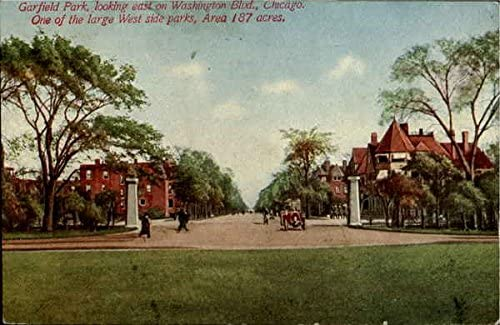 Garfield Park Chicago Illinois Il Original Vintage Postcard 1913 At Amazon S Entertainment Collectibles Store