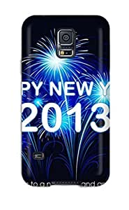 Premium Happy New Year Heavy-duty Protection Diy For LG G2 Case Cover