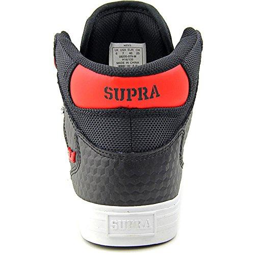 Supra Vaider LC Sneaker Schwarz / Rot - Weiß