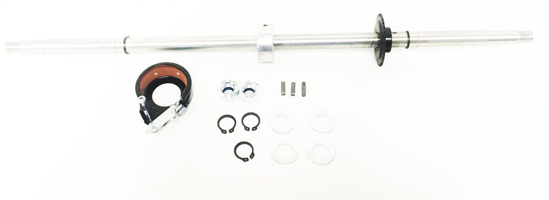 Razor Rear Axle w/Brake Drum & Sprocket (Drifter and Drifter Fury)