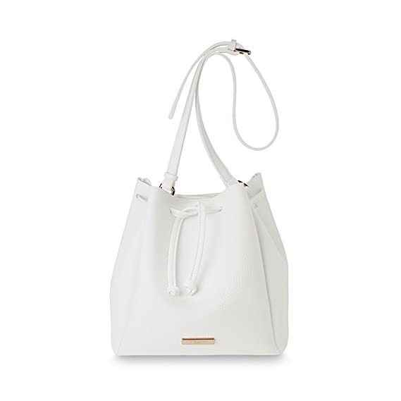 15ff2702 Katie Loxton - Chloe Bucket Bag - White: Amazon.co.uk: Clothing