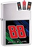 Zippo 24432 Dale Earnhardt Jr. #88 Lighter + Fuel Flint & Wick Gift Set