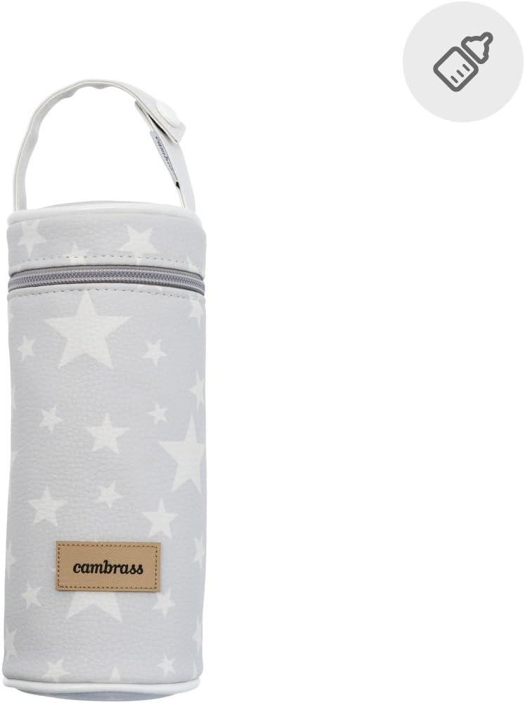 color gris Porta biber/ón 8.5 x 8.5 x 22 cm Cambrass Etoile