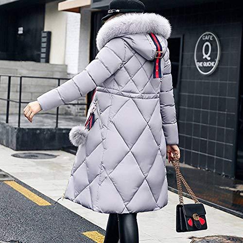 Veste chauffeuse Hibote Manteau Down d'hiver Jacket xABvB1