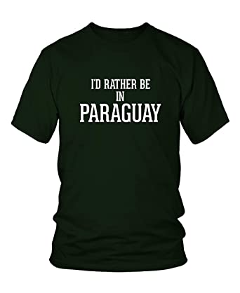 Amazon.com: Id Rather Be In PARAGUAY - Mens Adult Short ...